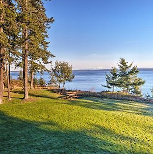 Marrowstone Island Home On Puget Sound With Mtn Views photos Exterior