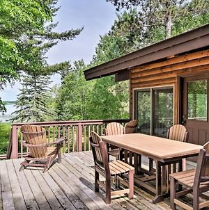 Cozy Lakefront Cabin With All-Seasons Amenities! photos Exterior