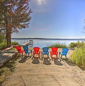 Lakefront Interlochen House With Dock And Kayaks! photos Exterior