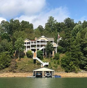 Luxury Living On Norris Lake With Boat Slip! photos Exterior