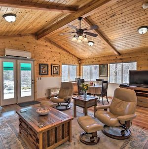 Victor Woodland Cabin Retreat With Fire Pit photos Exterior