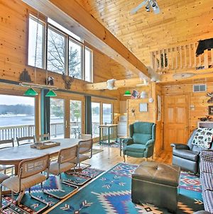 Peaceful Cottage On Long Lake With Deck And Dock! photos Exterior