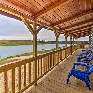 Lakefront Escape With Fire Pit, Trails And Dock! photos Exterior