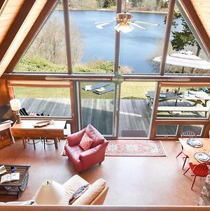 544 Dream Waterfront A Frame In East Orleans With Direct Water Access And Private Yard True Cape Cod Oasis photos Exterior