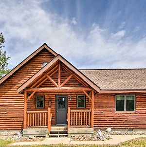 Rapid River Log Cabin With Loft On 160 Scenic Acres! photos Exterior