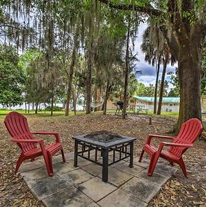 Dunnellon Cottage On Lake Rousseau With Boat House! photos Exterior