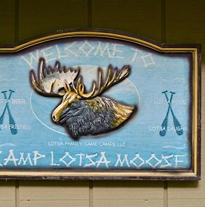 Lotsa Moose Lodge Pisgah Forest Waterfall Cabin! photos Exterior