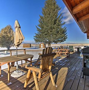 Dillon Log Home With Hot Tub By Beaverhead And Hiking! photos Exterior