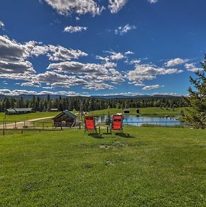 Trego Resort -Style Cabin With Lake,Trails And 40 Acres photos Exterior