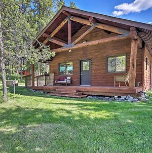 40-Acre Trego Resort Cabin With Lake And Trails! photos Exterior