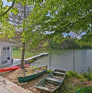 Lakefront Six Mile Retreat With Hot Tub And Dock! photos Exterior