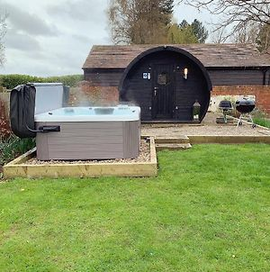 Steppe Farm Glamping Pod With Private Hot Tub photos Exterior
