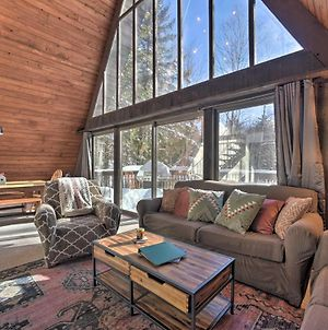 Cozy A-Frame With Pool Table 8 Mi To Mt Snow! photos Exterior