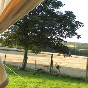 Comfy 1-Bed Bell Tent With Great Views photos Exterior