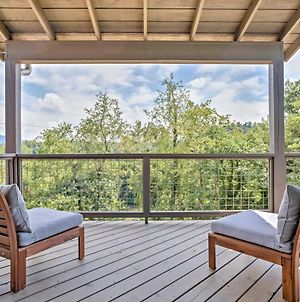 Modern Asheville Greenway Residence With 2 Decks! photos Exterior