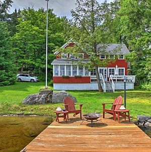Cozy Pleasant Lake Escape With Dock, Deck And Fire Pit photos Exterior