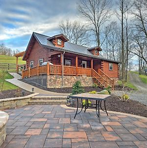 Rustic Dundee Log Cabin With Hot Tub And Forest Views! photos Exterior