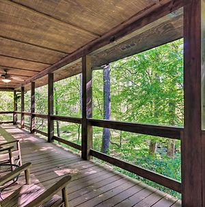 Creekside Marietta Cabin Retreat With Fire Pit! photos Exterior