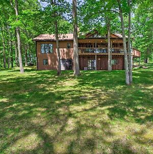 Waterfront Cabin With Deck, Dock On Spooner Lake photos Exterior