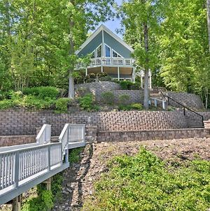 Bracey Home On Lake Gaston Furnished 2-Story Dock photos Exterior