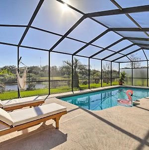 Bright And Sunny Riverview Oasis With Pool And Pond photos Exterior