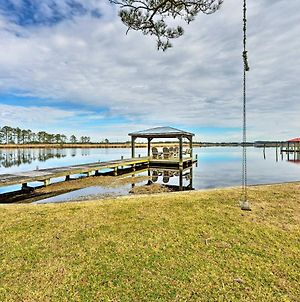 Waterfront Belhaven House And Cottage With Dock! photos Exterior