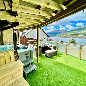 Amazing Alps And Loch Views - Hot Tub And Pet Friendly photos Exterior