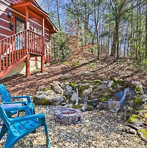 Cabin With Waterfall And Hot Tub, 1 Mi To Parkway photos Exterior