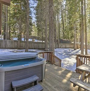 Cozy Escape With Hot Tub - 6 Miles To Lake Tahoe! photos Exterior