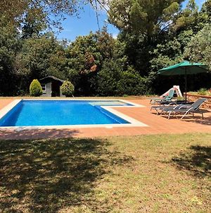 Villa With 3 Bedrooms In Girona With Wonderful Mountain View Private Pool Enclosed Garden 6 Km From The Beach photos Exterior