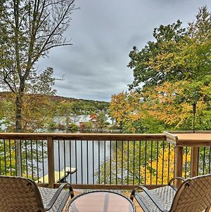 Waterfront Highland Lake Home With Deck And Private Dock photos Exterior