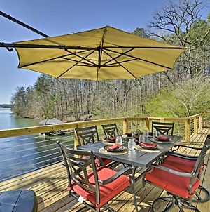 Savasana West Union Home On Lake Keowee With Dock! photos Exterior