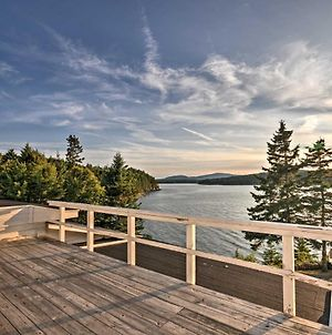 Charming Waterfront Winter Harbor Cottage With Views! photos Exterior