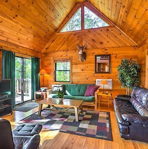 Hocking Hills Lake Cabin With Hot Tub, Deck And Dock! photos Exterior