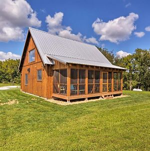 Greenfield Cabin With Screened-In Porch And Fire Pit! photos Exterior