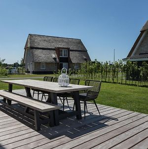 Beautiful, Thatched Villa With A Terrace At The Tjeukemeer photos Exterior