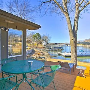 Sunny Waterfront Family Home On Grand Lake! photos Exterior