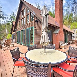 Adirondack Oasis Lake House With Dock And Deck! photos Exterior