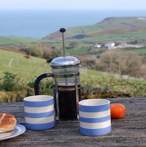 Polrunny Farm Blackberry Cottage - Cornwall Bliss In Sight Of The Sea photos Exterior
