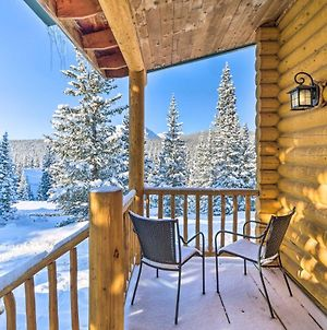 Fairplay Cabin With Mtn Views 25 Mi To Breck! photos Exterior