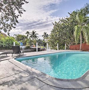 Chic Canalside Home 6 Mi To Fort Lauderdale! photos Exterior