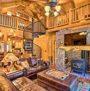 Luxury Mountain Cabin With Furnished Deck And Views! photos Exterior