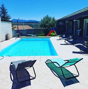 Villa With 3 Bedrooms In Beaufort Sur Gervanne With Wonderful Mountain View Private Pool Enclosed Garden photos Exterior