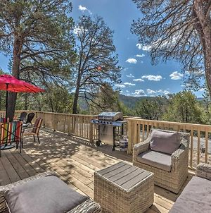 Charming Ruidoso House With Deck And Mtn Views! photos Exterior