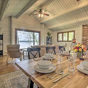 Riverfront Cabin With Hot Tub, 2H From Nyc And Dc! photos Exterior