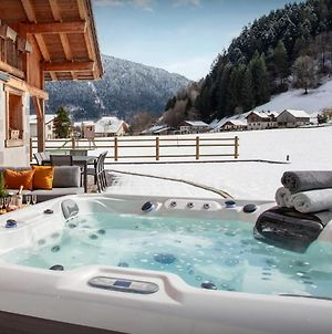 Contemporary Chalet In Thones Sleeps 12 - Relax In The Sauna Or Hot Tub & Have Fun In The Games Room Valley Views photos Exterior
