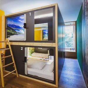 Capsule Hotel By Hyve Basel City photos Exterior