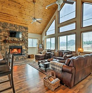 Show Low Area Cabin With Game Room And Hot Tub! photos Exterior