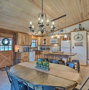 Chic Lakefront Cabin With Dock And Bluff Creek Views! photos Exterior