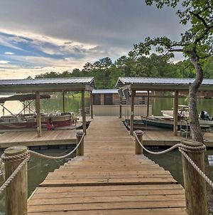 Rustic-Chic Riverfront Home With Dock, Deck And Canoes! photos Exterior